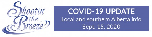 Shootin The Breeze Recoveries Outnumber New Covid 19 Cases In Alberta S South Zone Today
