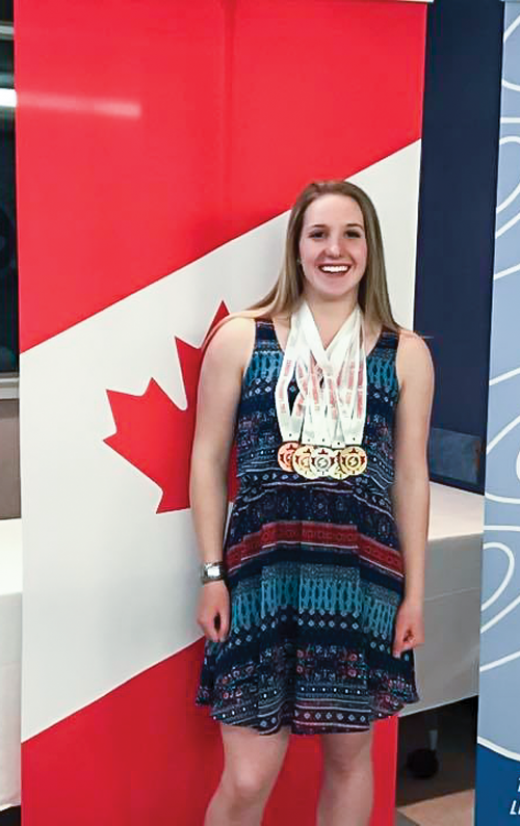 Young athlete to represent Canada at Festival of Lifesaving