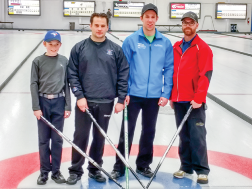Top rinks at the 70th annual Bunny Bonspiel