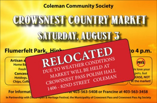 Coleman Community Society's Country Market on Saturday