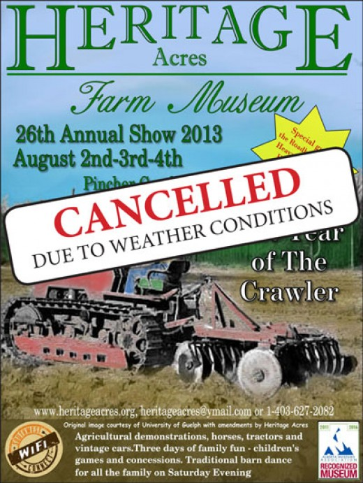 The year of the crawler at Heritage Acres