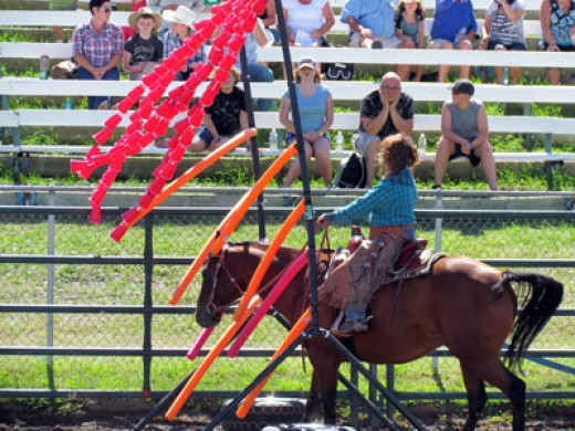 Extreme horsemanship at the Cowboy Challenge