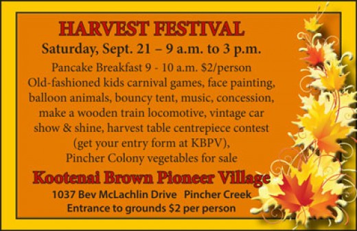 Come for the harvest fun at KBPV