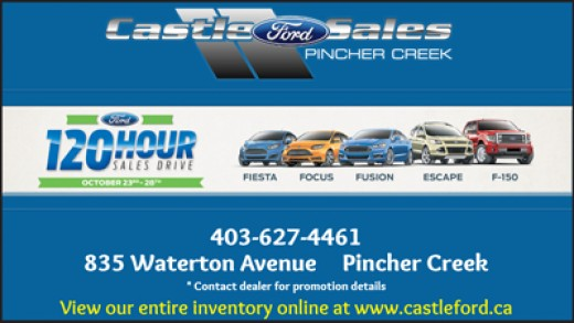 Look what's new at Castle Ford