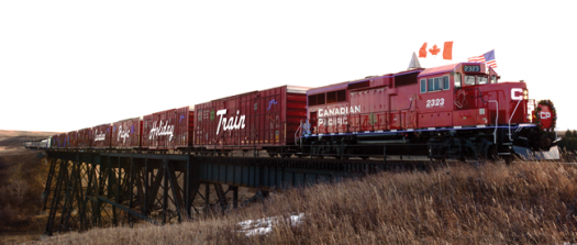 Holiday Train is coming to town