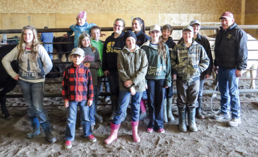 Timber Trails 4-H report