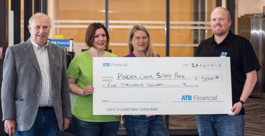 ATB shows community spirit from its new home