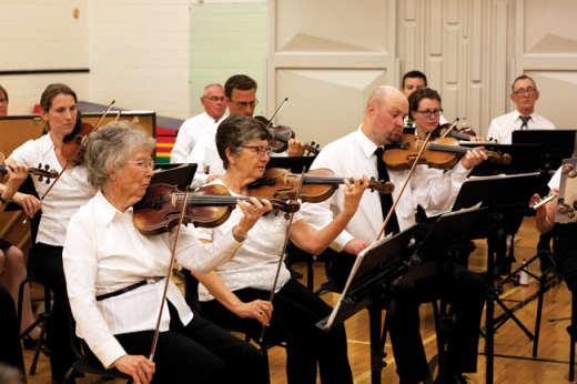 Orchestra brings sounds of spring