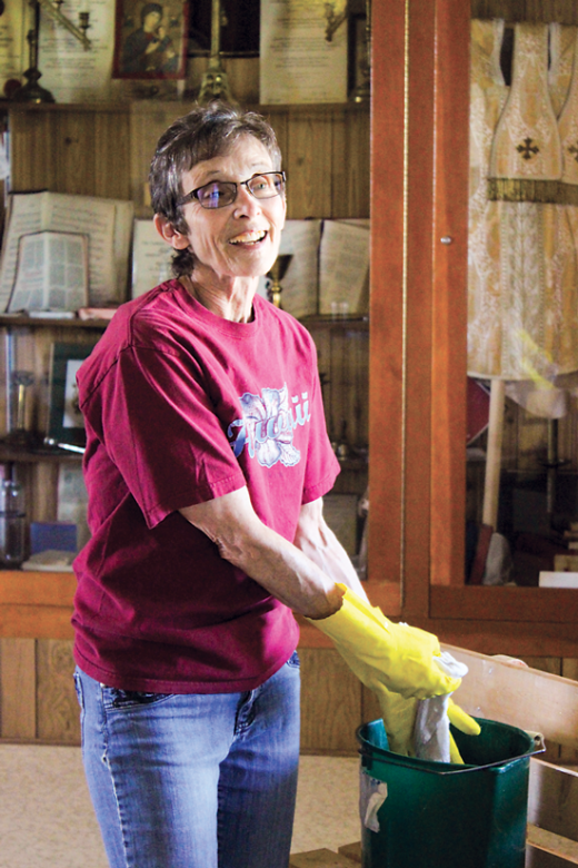 Work and music a good mix at St. Henry's cleanup day