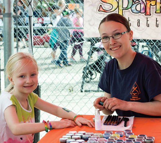 Generosity sparkles at Relay for Life