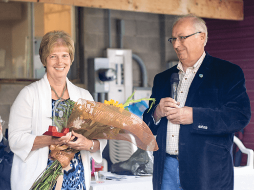 Diane's Way named in honour of longtime town employee