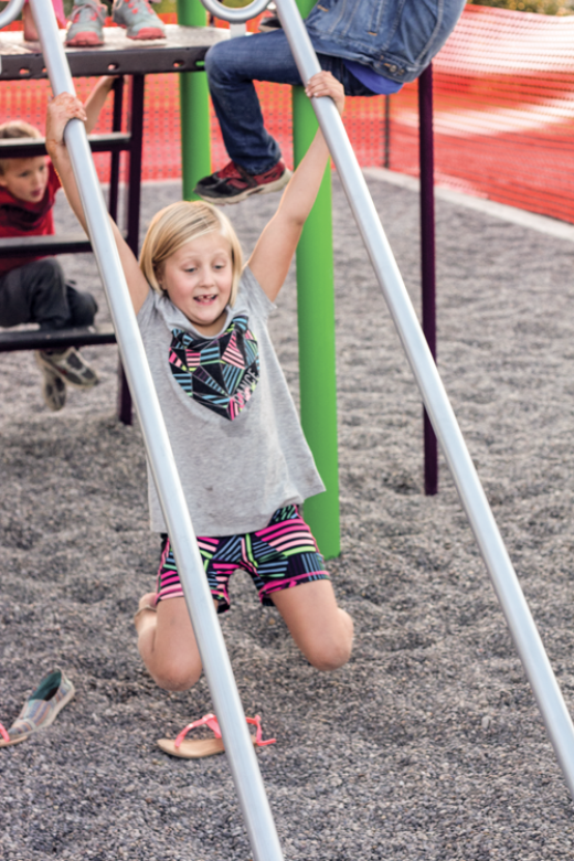 Community support makes new playground a reality