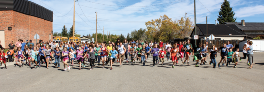 Students run in memory of Terry Fox
