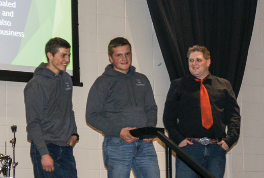 Brothers recognized for entrepreneurial venture
