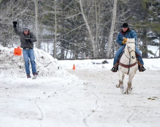 The Pole and Spur rides into Wintervention