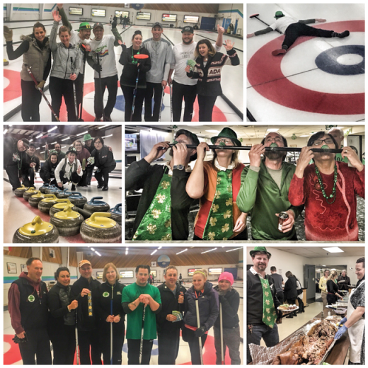 Good vibes were in play at the Shamrock Spiel
