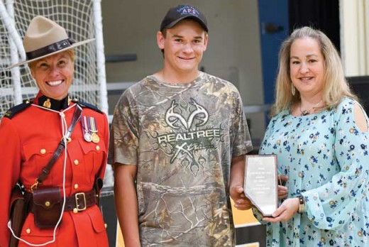 Lundbreck names first Junior Citizen of the Year