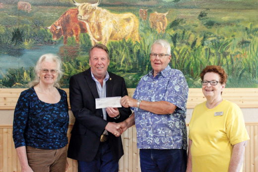$10,000 grant will assist Heritage Acres with events