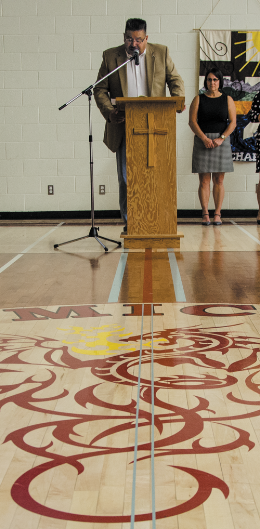 Renovations highlighted at St. Michael's rededication