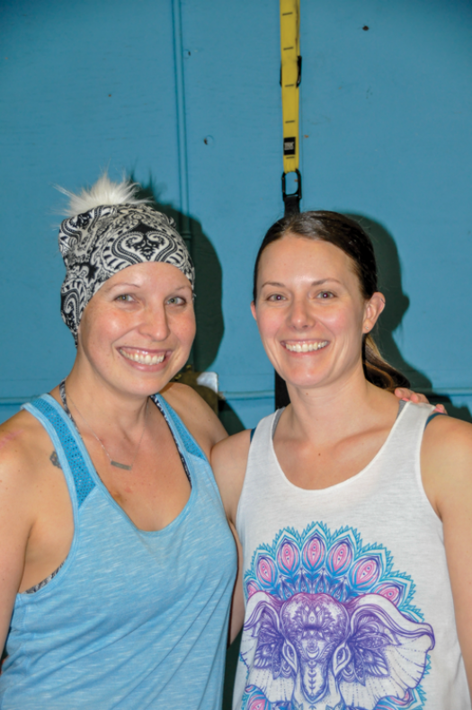Monster Fitness hosts Karma Yoga for one of its own