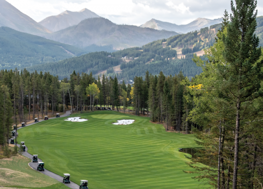Sneak peek at Crowsnest Pass Golf Course development