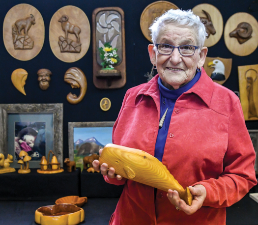 Artisan reflects on lifetime of creativity