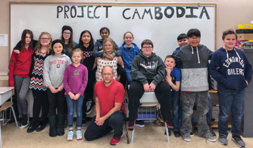 Students tackle global citizenship project