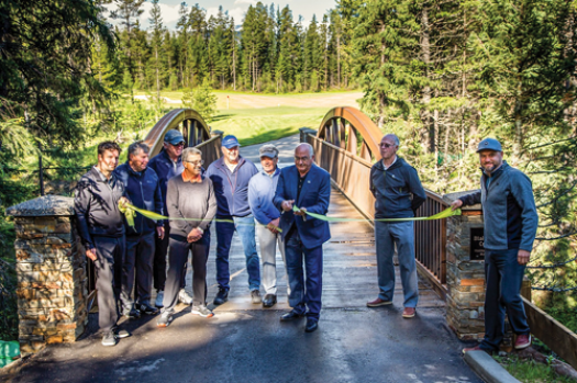 Scenery and challenges impress after golf course overhaul