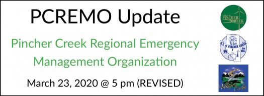 PCREMO update on public health measures and local closures