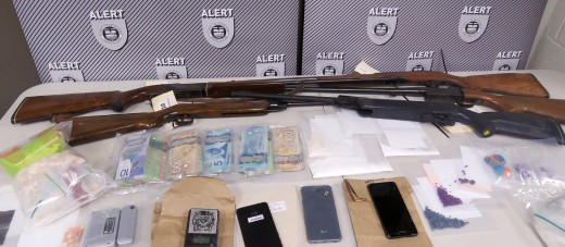 Firearms, drugs seized in Fort Macleod