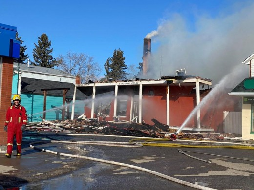 King Edward Hotel lost to fire