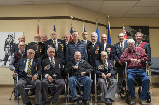 Pincher Creek Legion treats veterans to dinner