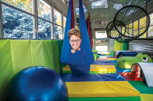 Mobile sensory clinic hits the road