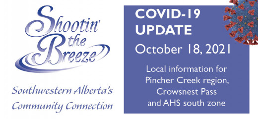 Oct. 18 south-zone Covid update