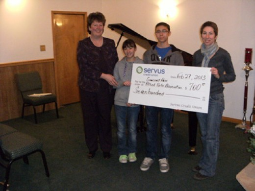 Thank you to Servus Credit Union Crowsnest Pass