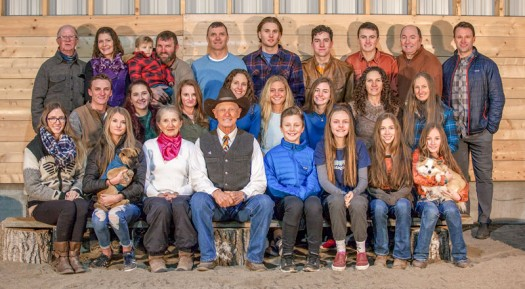 The heart of the Westrop ranch is family