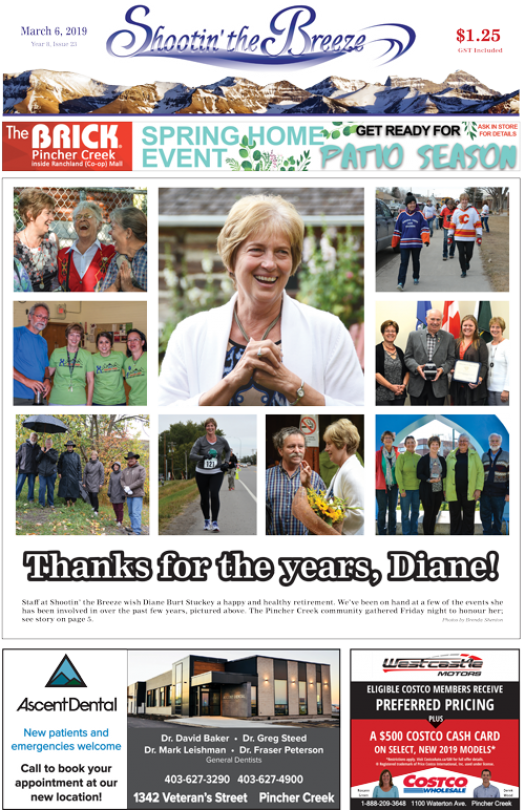 Don't miss this week's issue of Shootin' the Breeze!