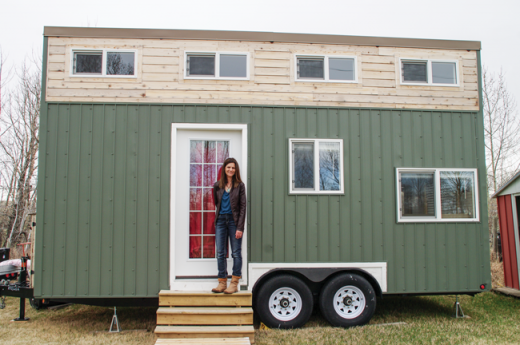 Tiny home is an experiment in simplicity